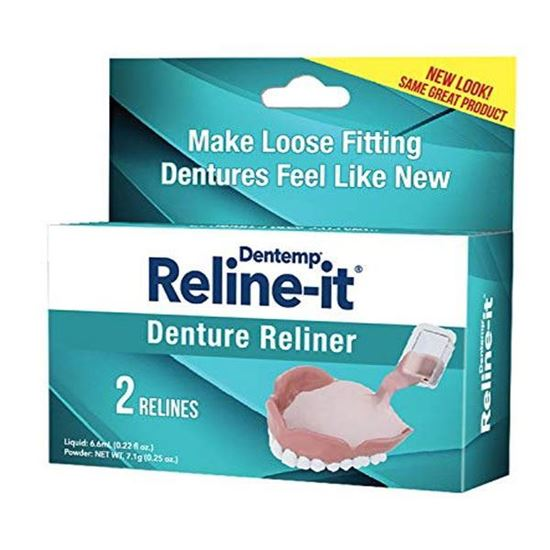 Picture of D.O.C. Reline-It Advanced Denture Reliner Kit