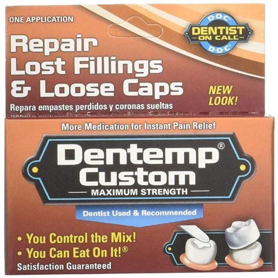 Picture of DENTEMP Custom Maxium Strength Repairs Loose Caps Lost Filling s