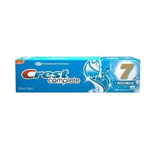 Picture of Crest Complete 2in1 Toothpaste with Mouthwash, Extreme Mint - 100ml/126g