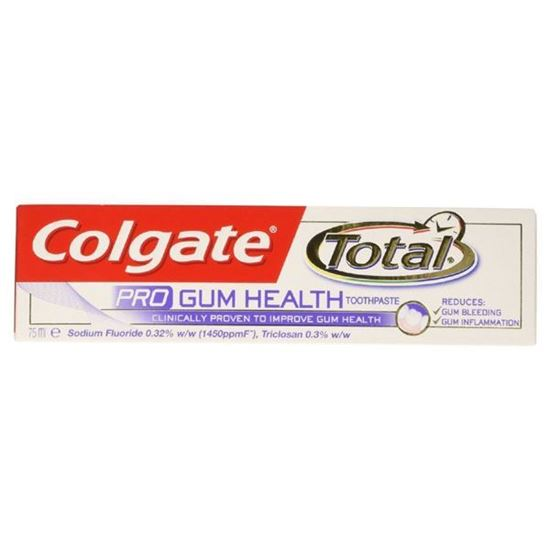 Picture of Colgate Total Pro Gum Health Toothpaste Tube - 75ml