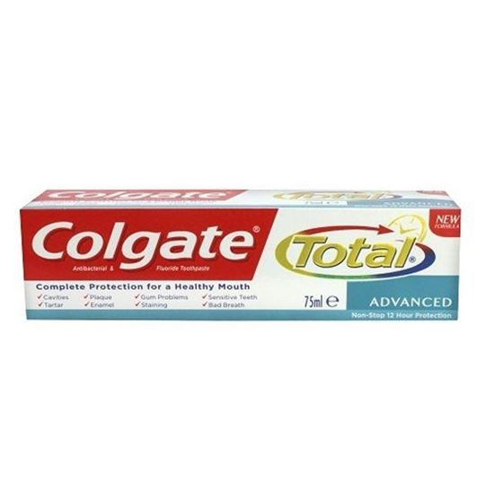 Picture of Colgate Total Advanced Antibacterial And Fluoride Toothpaste 75ml