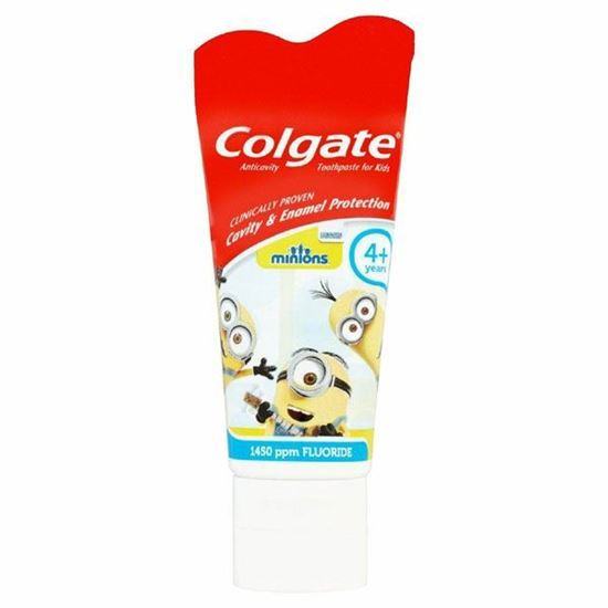 Picture of Colgate Kids Tooothpaste with Anticavity Fluoride Minions 3+
