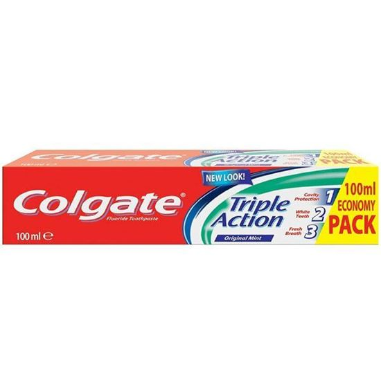 Picture of Colgate Triple Action Toothpaste, 100 ml