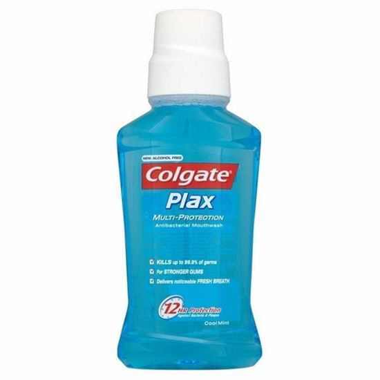 Picture of Colgate Total Plax Mouthwash Cool Mint (250ml)