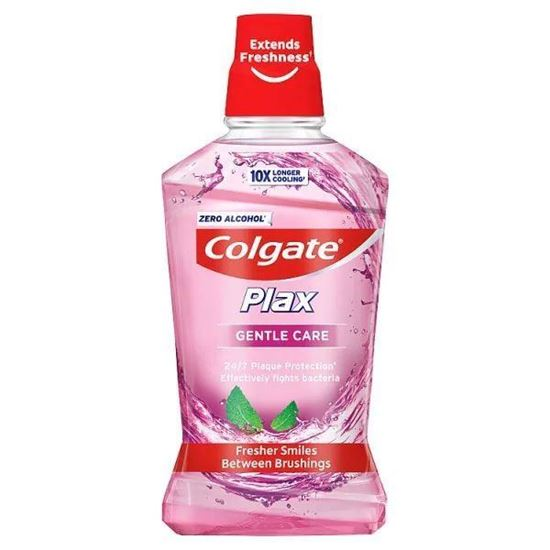 Picture of Colgate Plax Gentle Care Extra Mild Mouthwash 500ml
