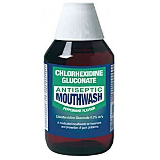 Picture of Chlorhexidine Gluconate Peppermint Mouthwash 300ml