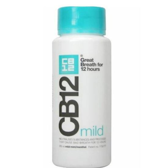 Picture of CB12 Mild Mint Menthol Mouthwash 250ml