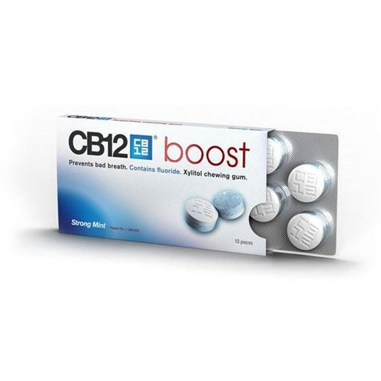 Picture of CB12 Boost Sugar Free Chewing Gum 10pcs
