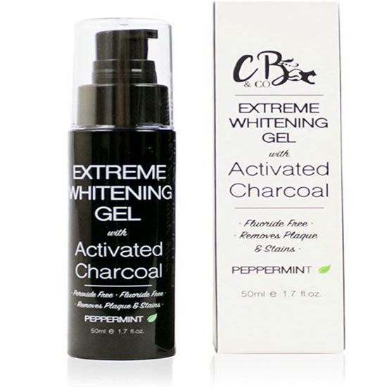 Picture of CB & Co Extreme Whitening Gel with Activated Charcoal, 50 ml