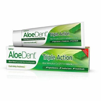 Picture of Aloe Dent Triple Action Toothpaste Fluoride Free - 100ml