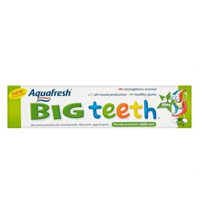 Picture of Aquafresh Big Teeth Fluoride Toothpaste 50ml