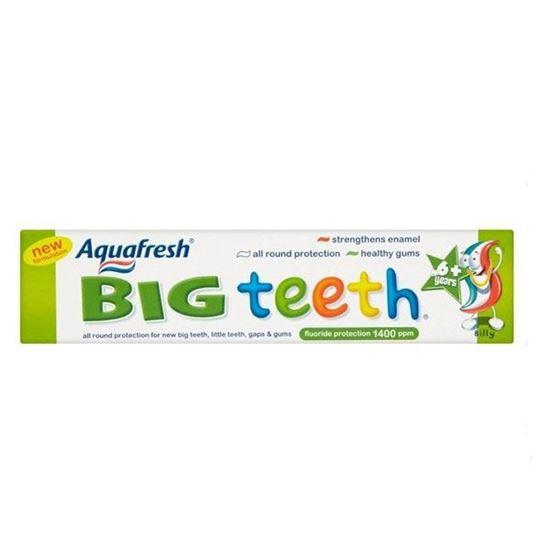 Picture of Aquafresh Big Teeth Fluoride Toothpaste 50ml