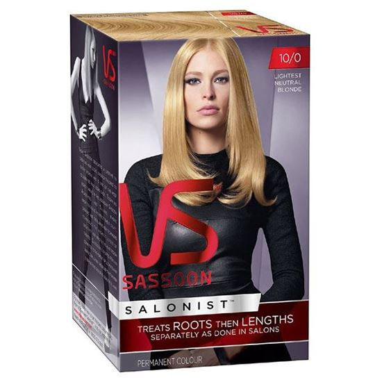 Picture of Vidal Sassoon Salonist Hair Colour - 10/0 Lightest Neutral Blonde