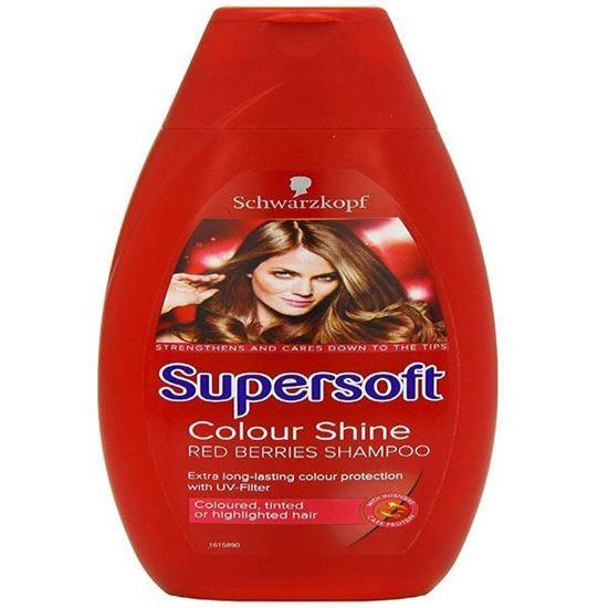 Picture of Schwarzkopf Supersoft Colour Shine Shampoo 400 ml