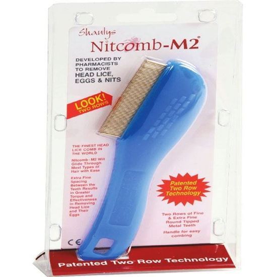 Picture of Shantys Nit Comb M2 Double Row Head Lice Comb