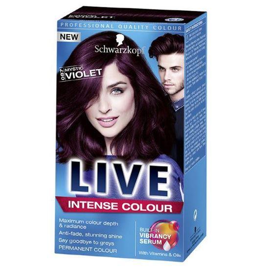 Picture of Schwarzkopf LIVE Intense Colour Mystic Violet 087 Permanent Hair Dye