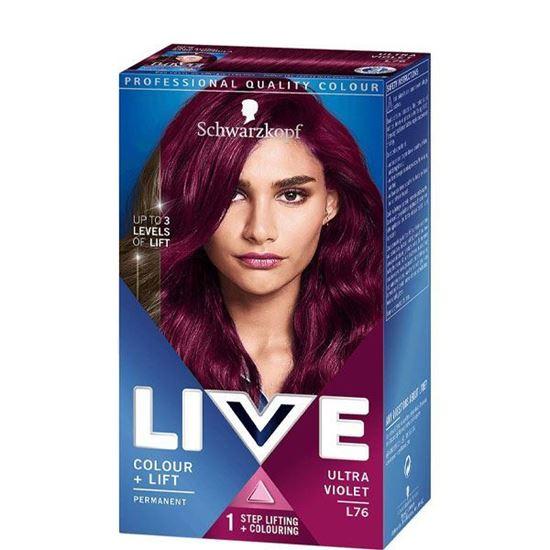 Picture of Live XXL Schwarzkopf Color Luminance L76 Ultra Violet