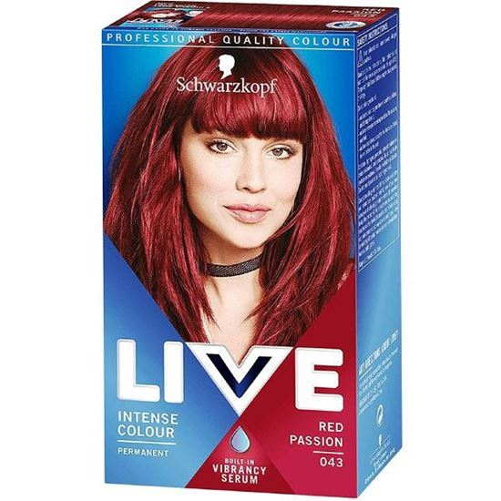 Picture of Schwarzkopf Live XXL R43 Red Passion Hair Colour