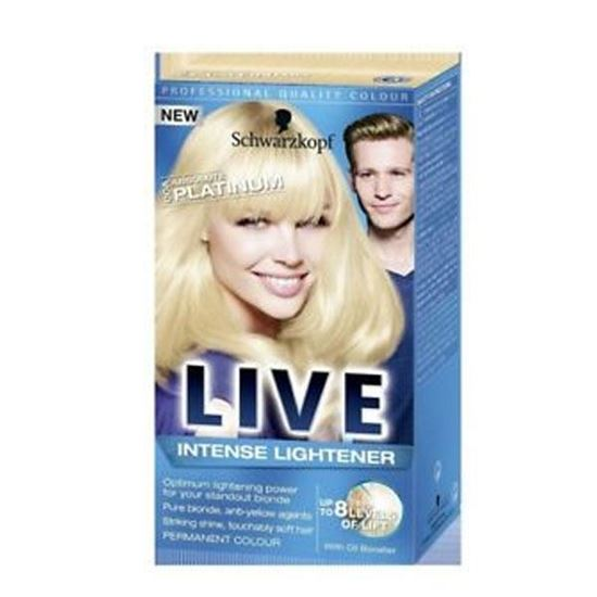 Picture of SCHWARZKOPF LIVE COLOR XXL ABSOLUTE PLATINUM 00A