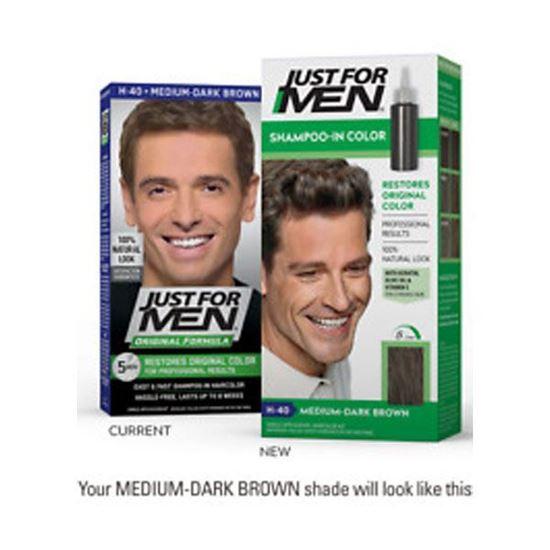 Picture of JUST FOR MEN S/POO MED DARK BROWN