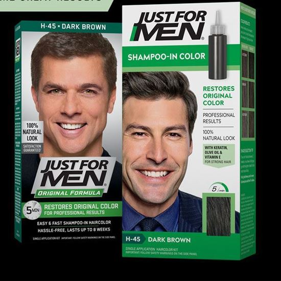 Picture of Just For Men Hair Colourant Natural Medium Brown H-35
