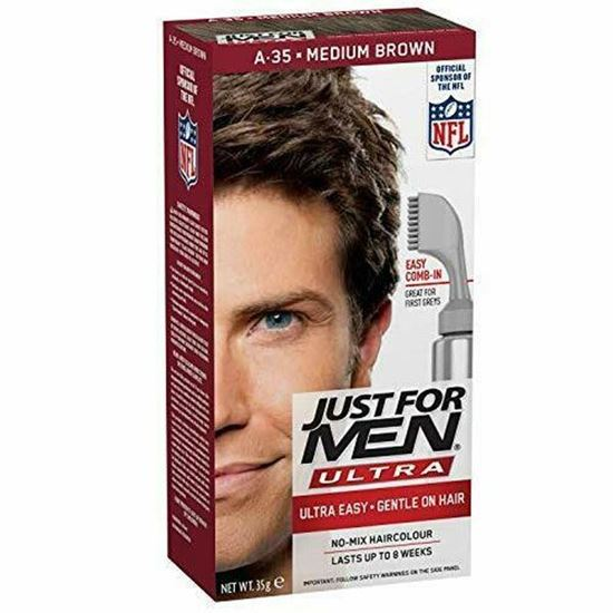Picture of Just for Men Hair Dye A35 – Medium Brown Men's Ultra Hair Colour