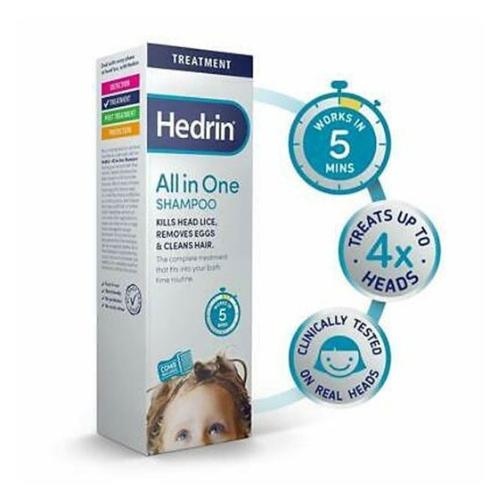 Picture of Hedrin All in One Shampoo 100ml
