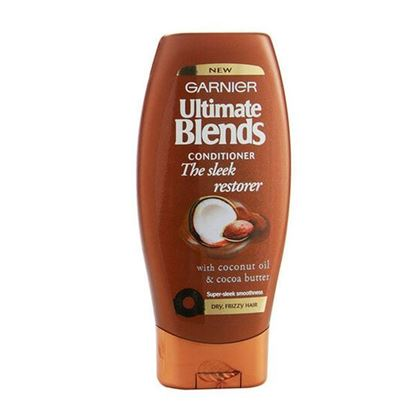 Picture of Garnier Ultimate Blends Sleek Restorer Conditioner 200Ml