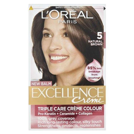 Picture of L'Oréal Paris Excellence Creme Natural Brown 5 Permanent Hair Dye